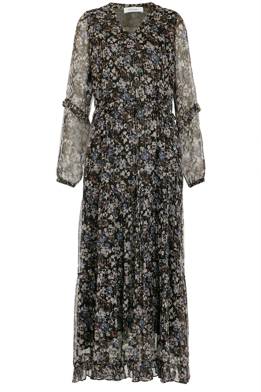 Midi-Kleid aus Seiden Chiffon mit Lurex | BLOOM | bloom ...